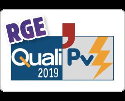 Logo Agréement QualiPV RGE 2019